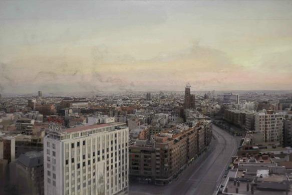Madrid desde Torres Blancas, Antonio López